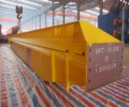 MH model single girder gantry crane delivery to Nigeria
