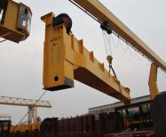 25+25t Double girder gantry crane delivery to Saudi Arabia
