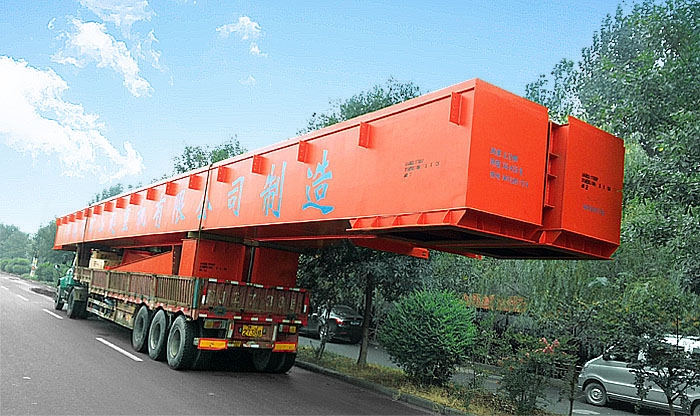 ME Double trolley gantry crane delivery to Singapore