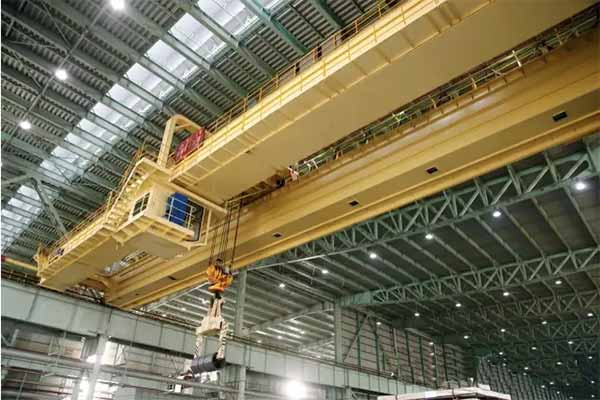 Overhead Cranes Pakistan : Double girder overhead crane with hook delivery to