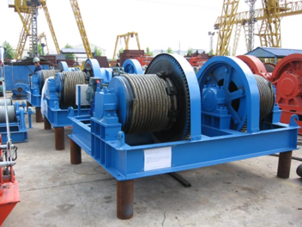 Electric winch and electric hoist cargo delivery to Ethiopia